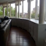 Lambrisering voor een appartement in Hengelo