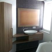 Badkamermeubel voor een woonhuis in Wierden