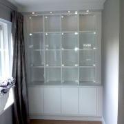 Displaykast voor een woonhuis in Wierden
