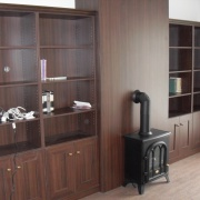 Boekenkasten voor een zorgcomplex in Heteren